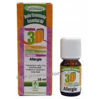 ALLERGIE HUILES ESSENTIELLES 3D anti-allergique naturel puissant Complexe Naturel puissant Phytofrance