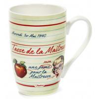 Mug POUR LA MAÎTRESSE blanc Natives déco rétro vintage