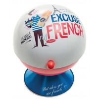 Sucrier Boule EXCUSE MY FRENCH Natives déco rétro vintage
