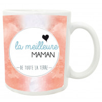 Mug LA MEILLEUR MAMAN DE TOUTE LA TERRE