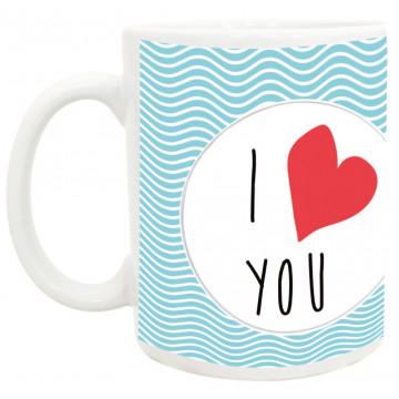 Mug I LOVE YOU collection mugs petits messages