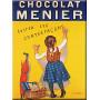 Plaque métal CHOCOLAT MENIER 15 x 20 cm déco rétro vintage