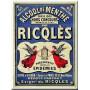 Plaque métal RICQLES 15 x 20 cm déco rétro vintage