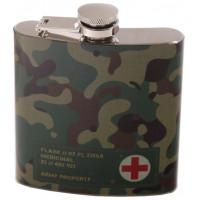 Flasque en acier inoxydable déco camouflage