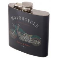 Flasque en acier inoxydable déco moto rétro vintage