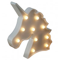 Lampe Veilleuse LED Tête de Licorne