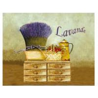 Torchon Provence Lavande Romarin