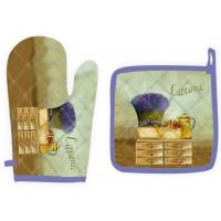 Gant et manique Provence Lavande Romarin