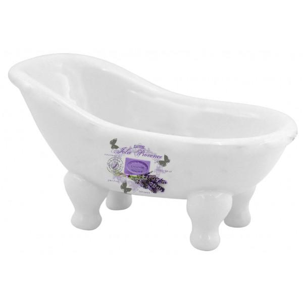 Porte savon baignoire ancienne lavande jolie provence for Porte savon pour baignoire
