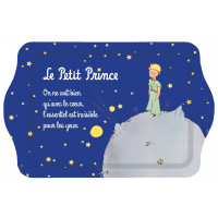Petit Plateau métal nuit étoilée LE PETIT PRINCE