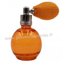 Eau de toilette FLEUR D'ORANGER 12 ml flacon rétro avec poire Esprit Provence