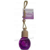 Flacon diffuseur de parfum à suspendre VIOLETTE 12 ml Esprit Provence