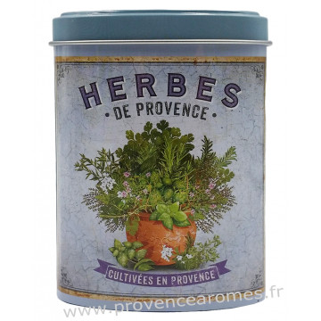 Herbes de Provence Boîte saupoudreur déco rétro Esprit Provence