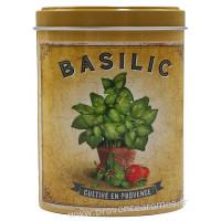Basilic de Provence Boîte saupoudreur déco rétro Esprit Provence