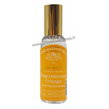 Eau de toilette PAMPLEMOUSSE ORANGE Un été en Provence 50 ml
