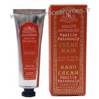 Crème mains Vanille Patchouli Un été en Provence tube 30 ml