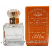 Eau de Toilette Fleur d'oranger Un été en Provence Plaisir des Sens