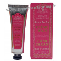 Crème mains Rose Tonka Un été en Provence