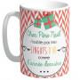 Grand Mug Cher Père Noël n'oublie pas mes lingots d'or comme l'année dernière ...collection Mugs petits messages