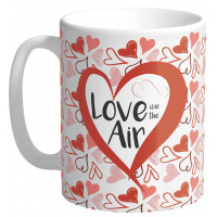 Mug LOVE IN THE AIR collection Mugs petits messages