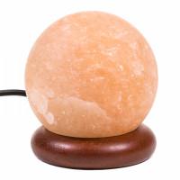 Mini lampe sphère en sel de l'himalaya cable USB