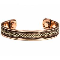 Bracelet en cuivre magnétique modèle 1