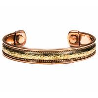 Bracelet en cuivre magnétique modèle 2