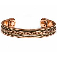 Bracelet en cuivre magnétique modèle 3