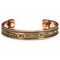 Bracelet en cuivre magnétique modèle 4