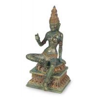 Statuette PARVATI 24 cm effet bronze