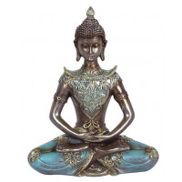 Statuette BOUDDHA THAÏ 24 cm méditation