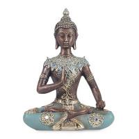 Statuette BOUDDHA THAÏ 19 cm Vitarka Mudra
