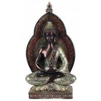 Statuette BOUDDHA THAÏ 39 cm méditation Dhyana Mudra