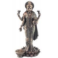 Statuette LAKSHMI 26 cm effet bronze