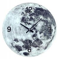 Horloge en verre LUNE