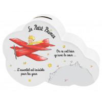 Tirelire céramique LE PETIT PRINCE nuage avion