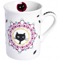 Mug CHAT MANDALA Foxtrot collection