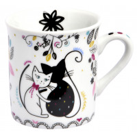 Petit Mug expresso CHAT MANDALA Foxtrot collection