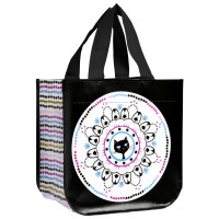 Petit sac cabas CHAT MANDALA Foxtrot collection