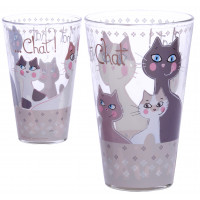 Verre CHAT CHAT CHAT ! Foxtrot collection