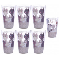 Coffret de 6 Verres CHAT CHAT CHAT ! Foxtrot collection