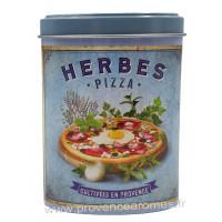 Herbes Pizza saupoudreur déco rétro Esprit Provence