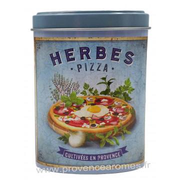 Herbes Pizza Boîte saupoudreur déco rétro Esprit Provence