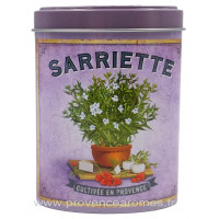 Sarriette Boîte saupoudreur déco rétro Esprit Provence
