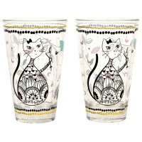 Verre CHAT MANDALA Foxtrot collection