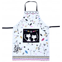 Tablier de cuisine CHAT MANDALA Foxtrot collection