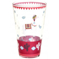 Verre LAMA MANIA Foxtrot collection