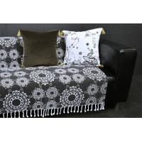 Jeté de canapé/lit frange MANDALA Foxtrot collection