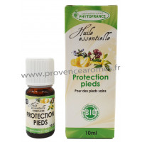 PROTECTION PIEDS Huiles Essentielles complexe BIO anti-mycoses champignons Phytofrance