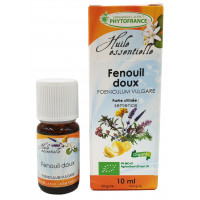 FENOUIL DOUX Huile Essentielle BIO Phytofrance
